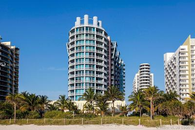 Miami Beach Condo For Sale: 1500 Ocean Drive #1201