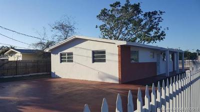 Miami Single Family Home For Sale: 16450 NE 6th Ave