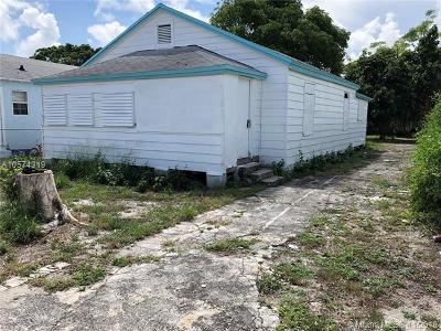 West Palm Beach Single Family Home For Sale: 540 18th St