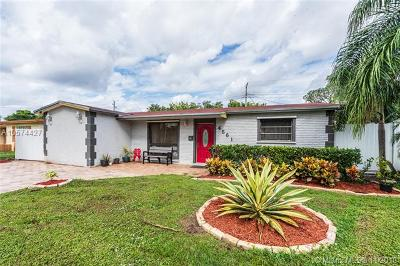 Lauderhill Single Family Home Active With Contract: 4561 NW 25th St