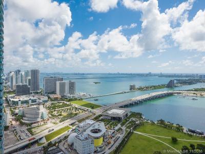 Miami Condo For Sale: 888 Biscayne Blvd #4810