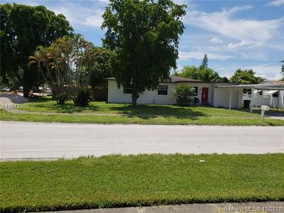 Miramar Single Family Home For Sale: 6600 SW 24th St