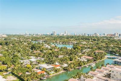 Miami Beach Condo For Sale: 1900 Sunset Harbour Dr #2407