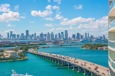 Miami Beach Condo For Sale: 450 Alton Rd #1807