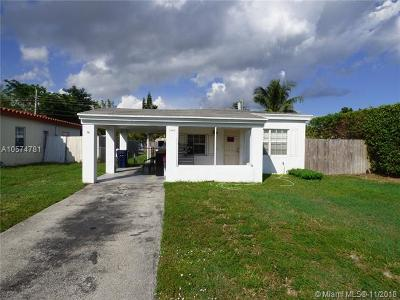 North Miami Beach Single Family Home For Sale: 1445 NE 177th St
