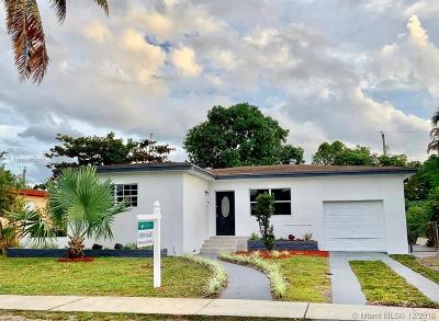 North Miami Single Family Home For Sale: 870 NE 147th St