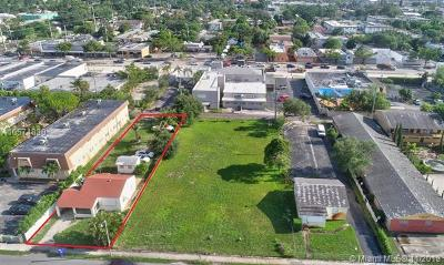 Broward County Residential Lots & Land For Sale: 2309 Van Buren St