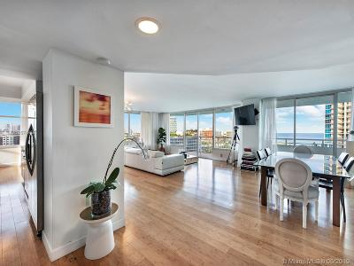 Miami Beach Condo For Sale: 400 S Pointe Dr #1010