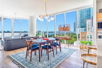 Paramount Bay, Paramount Bay Condo, Paramount Bay Miami Rental For Rent: 2020 N Bayshore Dr #802
