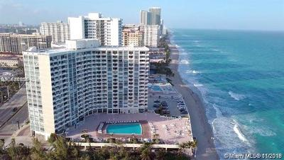Hallandale Condo For Sale: 3180 S Ocean Dr #1504