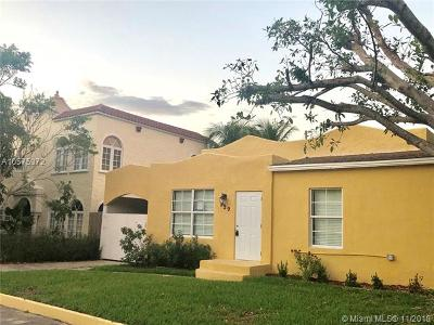 West Palm Beach Single Family Home For Sale: 529 39th St