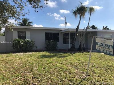 West Park Single Family Home For Sale: 3500 SW 37th St