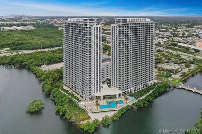 North Miami Beach Condo For Sale: 16385 Biscayne Boulevard #1219