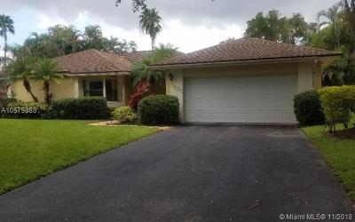 Cooper City Single Family Home For Sale: 3601 Bay Way
