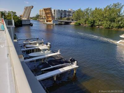 Pompano Beach Condo For Sale: 1505 N Riverside Dr #303