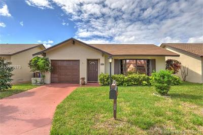 Deerfield Beach Single Family Home For Sale: 1539 SW 22nd Ter