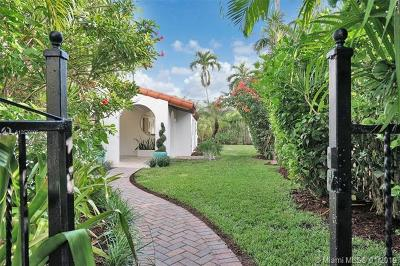 Miami Beach Single Family Home For Sale: 1650 Biarritz Dr