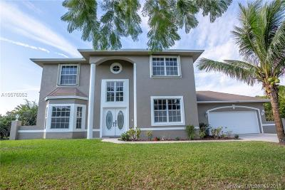 West Palm Beach Single Family Home For Sale: 15389 N 85th Ave N