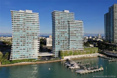 Miami Beach Condo For Sale: 540 West Avenue #912