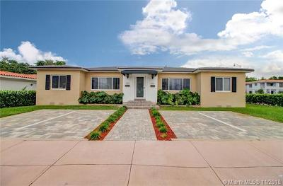 Coral Gables Multi Family Home For Sale: 352 & 356 Catalonia Ave