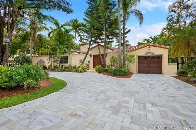 Coral Gables Single Family Home For Sale: 718 Sevilla Ave