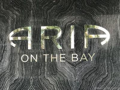 Aria On Th Bay, Aria On The Bay, Aria On The Bay Condo, Aria On The Bay Condominiu, Aria On The Bay Corner, Aria On The Bay Unit 2104 Condo For Sale: 488 NE 18 Street #701