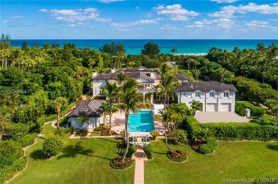 Hobe Sound FL Single Family Home For Sale: $11,895,000