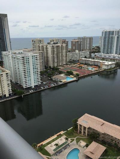 Hollywood Condo For Sale: 2602 E Hallandale Beach Blvd #2709