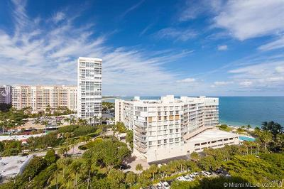 Key Biscayne Condo For Sale: 1121 Crandon Blvd #F1206