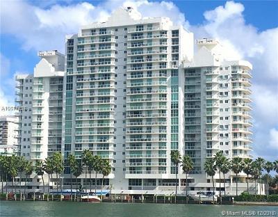 Miami Beach Condo For Sale: 5900 Collins Ave #1501
