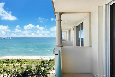 Surfside Condo For Sale: 9195 Collins Ave #1109
