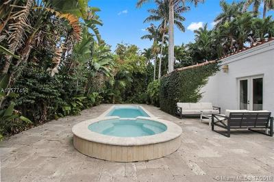 Miami Beach Single Family Home For Sale: 1745 W 23rd St