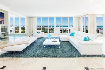 Miami Beach Condo For Sale: 1900 Sunset Harbour Dr #TS03