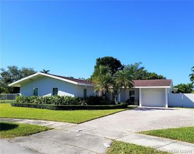 Cutler Bay Single Family Home For Sale: 18610 SW 93rd Pl