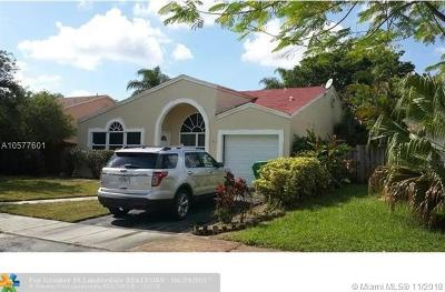 Cooper City Single Family Home For Sale: 9851 SW 58th Ct