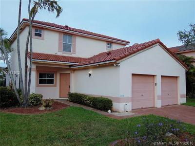 Pembroke Pines Single Family Home For Sale: 18521 NW 19th St