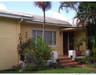 Miami Shores Single Family Home For Sale: 350 NE 107 Street
