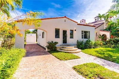 Coral Gables Single Family Home For Sale: 833 Madrid St