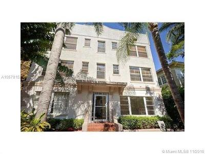 Miami Beach Condo For Sale: 1320 Drexel Ave #203