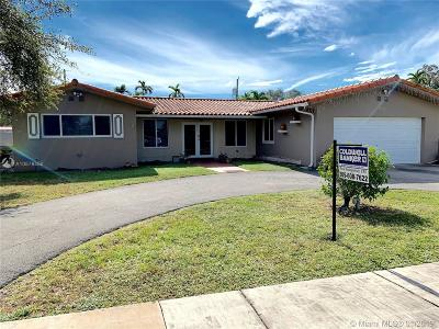 Miami Springs Single Family Home For Sale: 1110 Thrush Ave