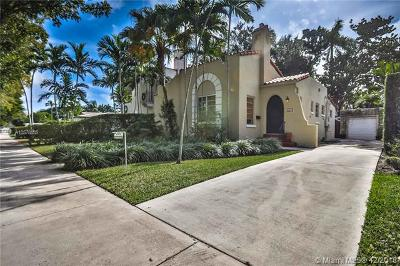 Coral Gables Single Family Home For Sale: 532 San Lorenzo Ave