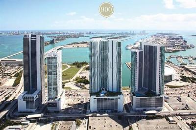 900 Biscayne, 900 Biscayne Bay, 900 Biscayne Bay Condo Rental For Rent: 900 Biscayne Blvd #502