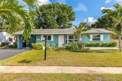 Margate Single Family Home For Sale: 604 NW 66th Ave