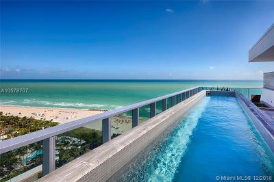 Miami Beach FL Condo For Sale: $22,000,000
