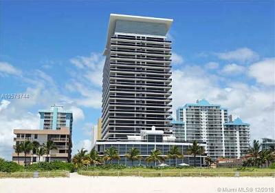 Miami Beach Condo For Sale: 5875 Collins Ave #1205