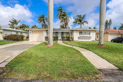 Hollywood Single Family Home For Sale: 1319 Buchanan St