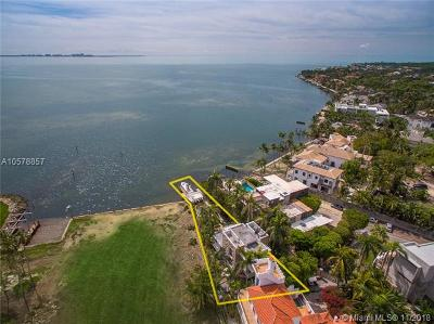 Coconut Grove FL Single Family Home For Sale: $4,995,000