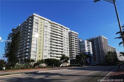 Miami Beach Condo For Sale: 5825 NW Collins Ave #6C