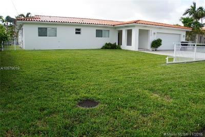 North Miami Beach Single Family Home For Sale: 3406 NE 168th St