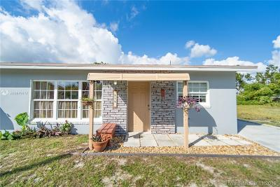 Boynton Beach Single Family Home For Sale: 719 SE 3rd St